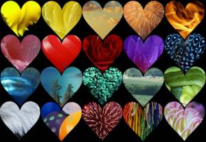 Fifty different hearts experience love 50 different ways.
