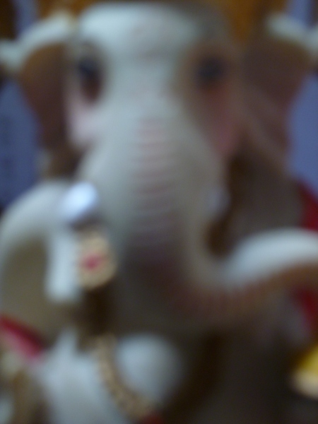 ganesha out of focus