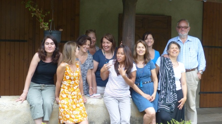 Group photo French Alps Retreat 2015.