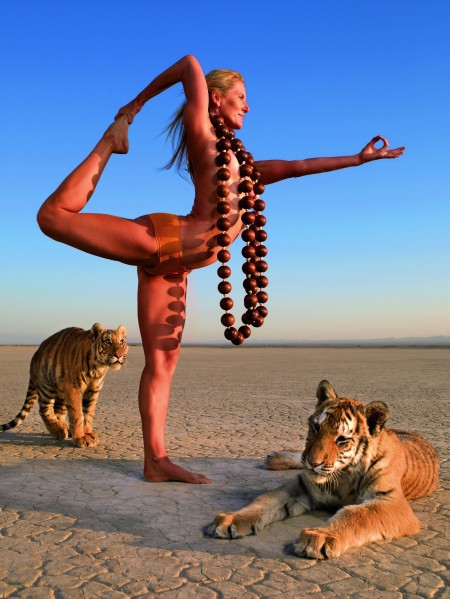 """From """"On Yoga"""" by Taschen."""