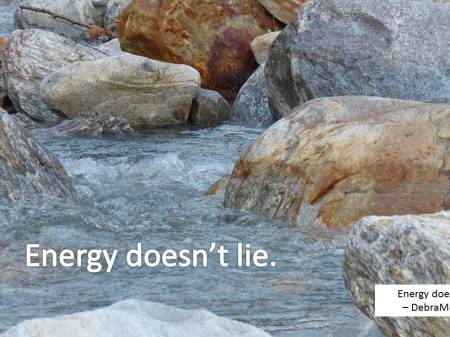 energy doesn't lie